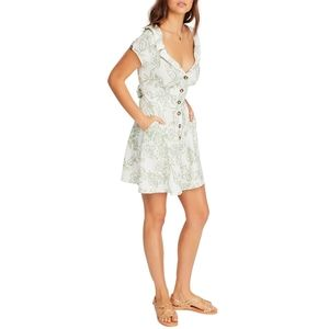 FREE PEOPLE A Thing Called Love linen floral dress